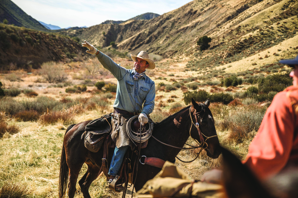 Choose your own path with Los Padres Outfitters